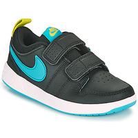 Schoenen Jongens Lage sneakers Nike PICO 5 PS Zwart / Blauw