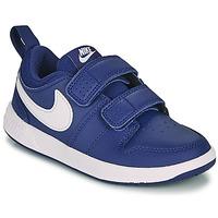 Schoenen Jongens Lage sneakers Nike PICO 5 PS Blauw / Wit