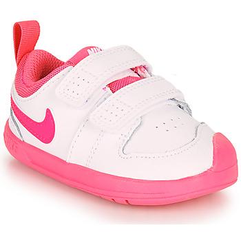 Schoenen Meisjes Lage sneakers Nike Pico 5 TD Wit / Roze