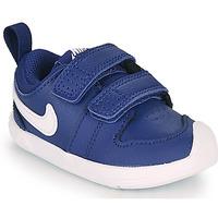 Schoenen Jongens Lage sneakers Nike PICO 5 TD Blauw / Wit