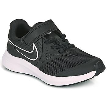 Schoenen Kinderen Allround Nike STAR RUNNER 2 PS Zwart / Wit