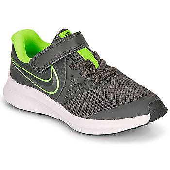 Schoenen Jongens Allround Nike STAR RUNNER 2 PS Grijs / Groen