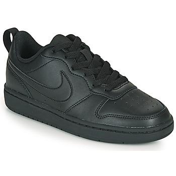 Schoenen Kinderen Lage sneakers Nike COURT BOROUGH LOW 2 GS Zwart