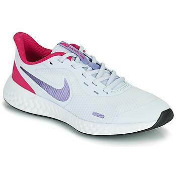 Schoenen Meisjes Allround Nike REVOLUTION 5 GS Blauw / Violet