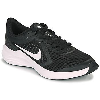 Schoenen Kinderen Allround Nike DOWNSHIFTER 10 GS Zwart / Wit