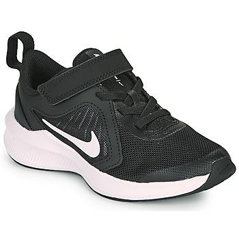 Schoenen Kinderen Allround Nike Downshifter 10 PS Zwart / Wit