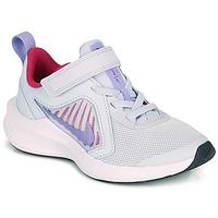 Schoenen Meisjes Allround Nike DOWNSHIFTER 10 PS Blauw / Violet