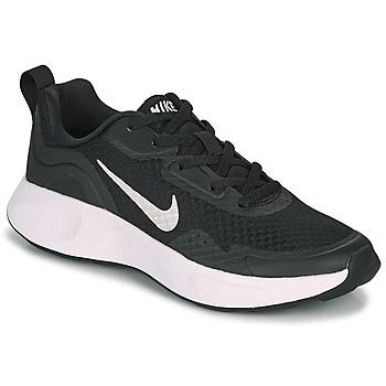 Schoenen Kinderen Allround Nike WEARALLDAY GS Zwart / Wit