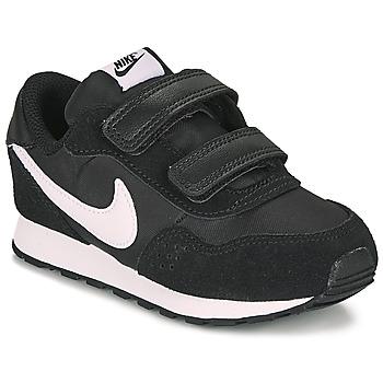 Schoenen Kinderen Lage sneakers Nike MD VALIANT TD Zwart / Wit