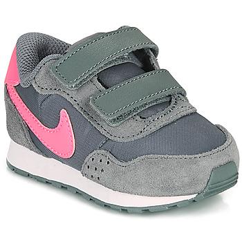 Schoenen Meisjes Lage sneakers Nike MD VALIANT TD Grijs / Roze