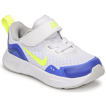 Schoenen Kinderen Allround Nike NIKE WEARALLDAY Wit / Blauw / Groen