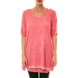 Textiel Dames Tunieken Sweet Company Tunique Atomika B Rose Roze