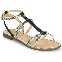 Schoenen Dames Sandalen / Open schoenen JB Martin 1GRIOTTES Wit / Zwart