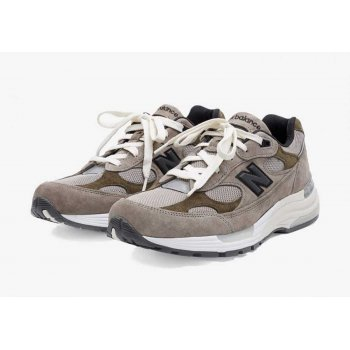 Schoenen Lage sneakers New Balance JJJJound x New Balence 992 Beige Beige - Grey