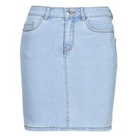 Textiel Dames Rokken Vero Moda VMHOT SEVEN Blauw / Clair