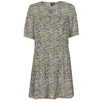 Textiel Dames Korte jurken Vero Moda VMELIN Beige