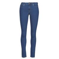Textiel Dames Skinny jeans Vero Moda VMJUDY Blauw / Medium