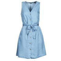 Textiel Dames Korte jurken Vero Moda VMVIVIANA Blauw / Clair