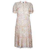 Textiel Dames Lange jurken Vero Moda VMKATHRINE Beige