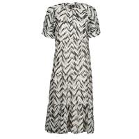 Textiel Dames Lange jurken Vero Moda VMKATHRINE Wit / Zwart