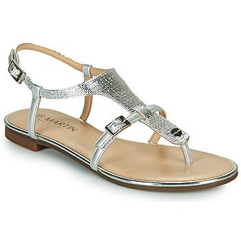 Schoenen Dames Sandalen / Open schoenen JB Martin 2GAELIA Zilver