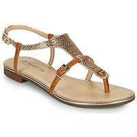 Schoenen Dames Sandalen / Open schoenen JB Martin 2GAELIA Bruin