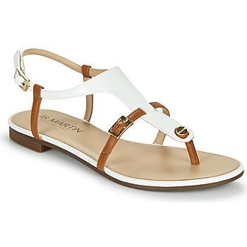 Schoenen Dames Sandalen / Open schoenen JB Martin 2GAELIA Wit / Bruin