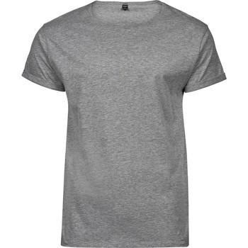 Textiel Heren T-shirts korte mouwen Tee Jays T5062 Heide Grijs