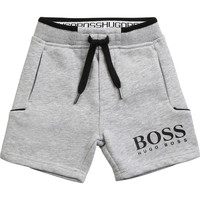Textiel Jongens Korte broeken / Bermuda's BOSS J04M57-A32-B Grijs
