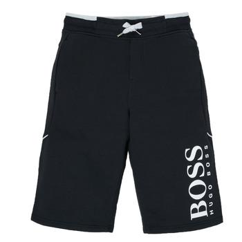 Textiel Jongens Korte broeken / Bermuda's BOSS KIMOLI Zwart