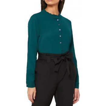 Textiel Dames Overhemden Jacqueline De Yong  Groen