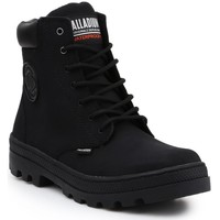 Schoenen Dames Hoge sneakers Palladium Manufacture Pallabosse SC Waterproof 96868-008-M black