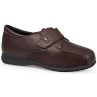 Schoenen Dames Derby & Klassiek Calzamedi SCHOENEN  DIABETIC 0708 MARRON