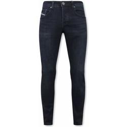 Textiel Heren Skinny jeans True Rise Stretch Jeans A Blauw