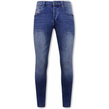 Textiel Heren Skinny jeans True Rise Stretch Spijkerbroek A Blauw