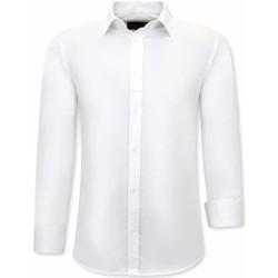 Textiel Heren Overhemden lange mouwen Tony Backer Luxe Wit