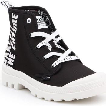Schoenen Hoge sneakers Palladium Manufacture Pampa HI Future 76885-002-M white, black
