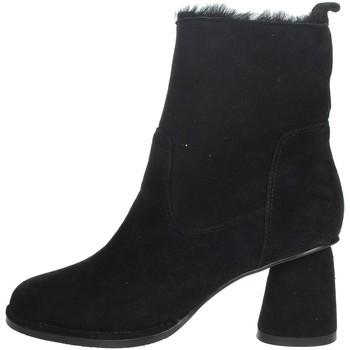 Schoenen Dames Laarzen Nina Capri IC-141 Black