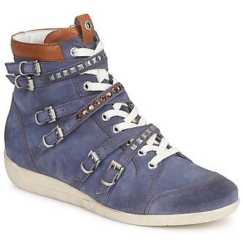 Schoenen Dames Hoge sneakers Janet Sport MARGOT ISABEL Blauw