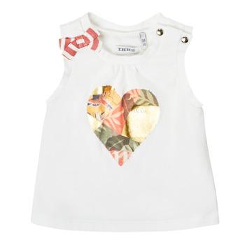 Textiel Meisjes Mouwloze tops Ikks XS10030-19 Wit