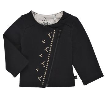 Textiel Meisjes Vesten / Cardigans Ikks XS17020-02 Zwart