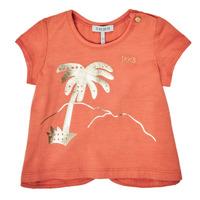 Textiel Meisjes T-shirts korte mouwen Ikks XS10080-67 Oranje