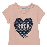 Textiel Meisjes T-shirts korte mouwen Ikks XS10120-31 Roze