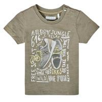 Textiel Jongens T-shirts korte mouwen Ikks XS10141-57 Kaki