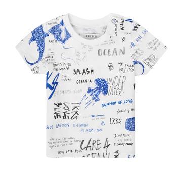 Textiel Jongens T-shirts korte mouwen Ikks XS10021-19 Multicolour
