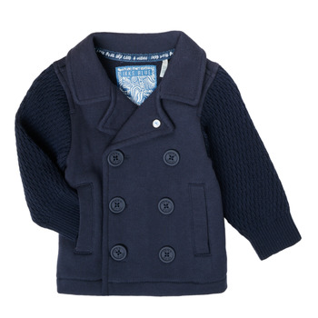 Textiel Jongens Vesten / Cardigans Ikks XS17001-48 Marine