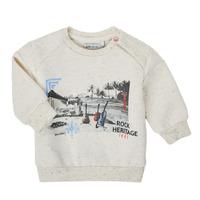 Textiel Jongens Sweaters / Sweatshirts Ikks XS15011-60 Wit
