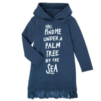 Textiel Meisjes Korte jurken Ikks XS30092-48-C Marine