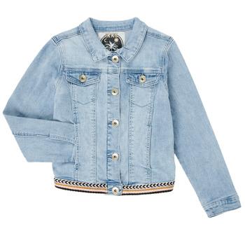Textiel Meisjes Spijker jassen Ikks XS40152-84-C Blauw