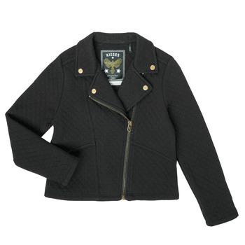 Textiel Meisjes Vesten / Cardigans Ikks XS17012-02-J Zwart